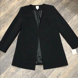 Halogen Open Front Blazer Type Jacket